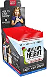 Healthy Height Kids Protein Shake Mix (Vanilla) - Developed by Pediatricians - Growth Shake with Protein, Vitamins & Minerals to Gain Height or Weight (14 Count)