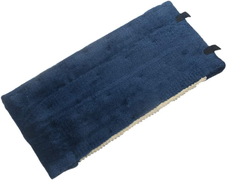 suministros para mascotas azul no t/óxico Tabla de rascar para gatos Pohove resistente al desgaste almohadilla esquina de sisal divertido juguete para colgar en la pared