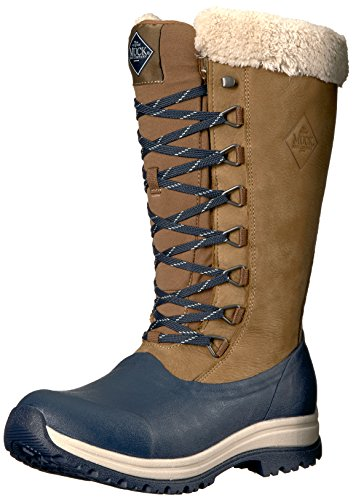 Muck Arctic Après Tall Rubber & Leather Lace-Up Women's Winter Boots
