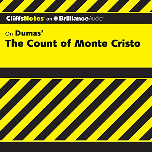 The Count of Monte Cristo: CliffsNotes                   Written by:                                                                                                                                 James L. Roberts Ph.D.                               Narrated by:                                                                                                                                 Dan John Miller                      Length: 3 hrs and 34 mins     Not rated yet     Overall 0.0