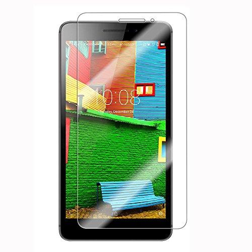 [2paquetes] Lenovo Phab Protector de pantalla, vidrio templado Protector de pantalla HD transparente Protector de pantalla for 6.98'Lenovo Phab [no para 6.8Lenovo PHAB Plus]