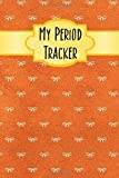 My Period Tracker: A Simple Three-Year Monthly Menstrual Cycle Journal With A Brown Earthy Bow And Ribbon Banner Theme