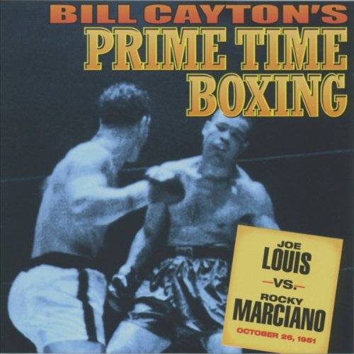Joe Louis vs. Rocky Marciano audiobook cover art