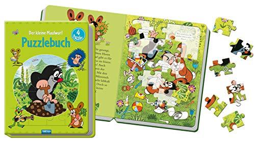 Trötsch Der kleine Maulwurf Puzzlebuch: Beschäftigungsbuch Entdeckerbuch Puzzlebuch