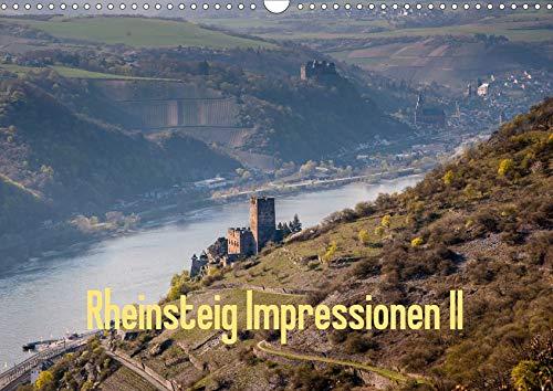 Rheinsteig Impressionen II (Wandkalender 2020 DIN A3 quer): Impressionen eines Wanderers entlang des Rheinsteig-Wanderwegs, im Unesco Welterbe - ... (Monatskalender, 14 Seiten ) (CALVENDO Orte)