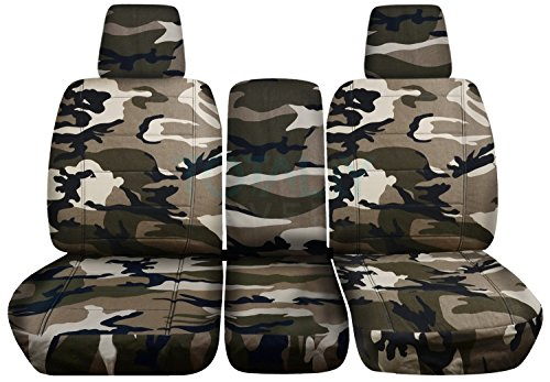 Totally Covers Compatible with 2004-2008 Ford F-150 Camo Truck Seat Covers...