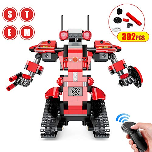 Bloques de Construcción RC Robot, Control Remoto STEM Robot...