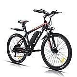 VIVI Elektrofahrrad Ebike Mountainbike, 350W Elektrofahrrad für Erwachsene, 26' Elektrisches...