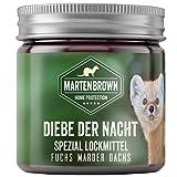 Martenbrown ladrones en la noche de gel cebo para martas, zorros, tejones, mapaches / perfume Fuchs / atrayente cebo para las trampas / Marderlockmittel de trampas en vivo, cebo para atrapar la marta