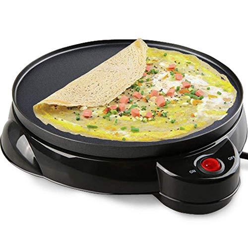 Gpzj Crêpière électrique antiadhésive, crêpe de Fabricant de crêpes de Fabricant de Pizza Faisant la Casserole pour la Casserole de Cuisson d'outil de Cuisine Domestique