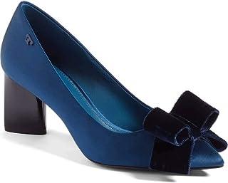 b2c4fa40ffae Tory Burch Womens Viola Satin Pointed Toe Classic Pumps