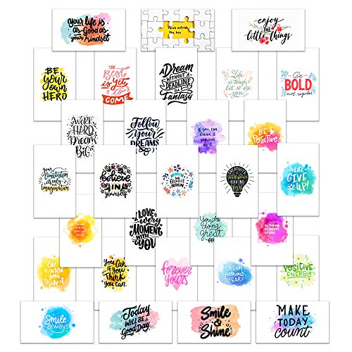 """Positive Affirmation Cards 3.5"""" x 2"""" - 60 Cards - Great for Lunch Boxes, Vision Boards, Planners, Business, and More! 100% Made in the U.S.A."""