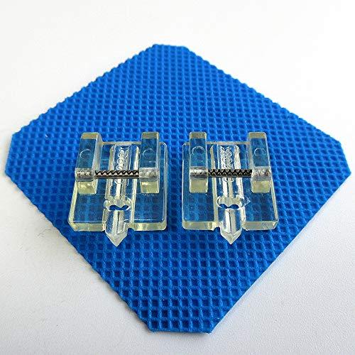 2 pies de cremallera invisible para máquina de coser Pfaff #93-042980-91/8204474-096