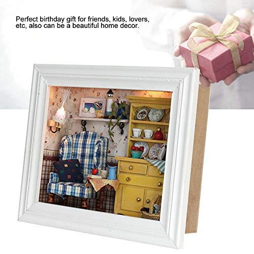 Focket Casa de muñecas inofensiva, casa de muñecas, kit de casa de muñecas duradero,...