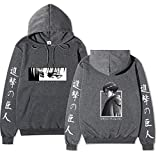 shownicer Attack On Titan Sudadera con Capucha Hombres Mujeres Unisex Pullover...