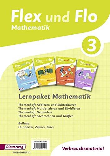 Flex und Flo 3 - Lernpaket Mathematik Ausgaber 2014: Ausgabe 2014