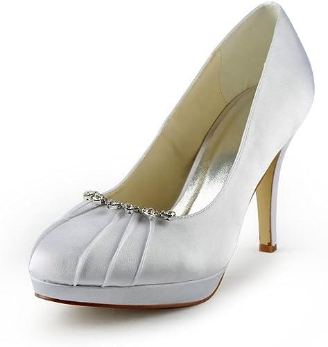 JIA JIA Wedding 37022 Chaussures de mariée Mariage Mariage Escarpins pour Femme  Achetez maintenant