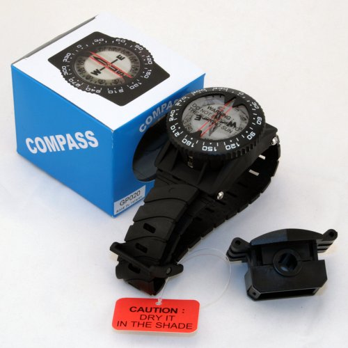 Promate Wrist Compass with Hose Mount