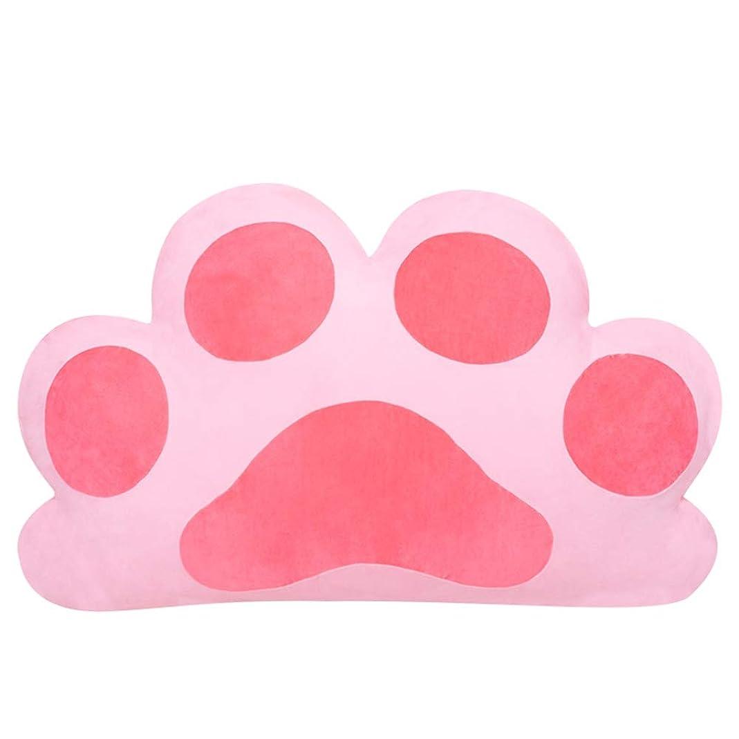 チップ舌感嘆GLP 猫ベッドのヘッドレスト取り外し可能と洗える畳ソフトバッグプリンセスカップルダブルヘッドロングクッション大きな背もたれ取り外し可能と洗える、2サイズ&120×20×65センチ (Color : Pink, Size : 120x20x65cm)