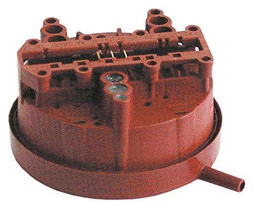 Hobart Pressostat für Spülmaschine FX, GX, HX-S, HX-30S, HX-40S, HX, HX-30E 35/20mbar ø 84mm Anschluss 6mm 6mm HOBART