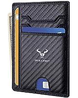Slim Wallet,Bulliant Skinny Minimal Thin Pocket Wallet For Men 7Cards 3.15