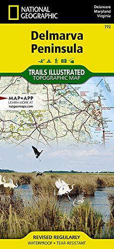 Delmarva Peninsula (National Geographic Trails Illustrated Map, 772)
