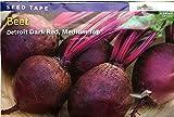 Burpee Beet Detroit Dark Red Seed Tape