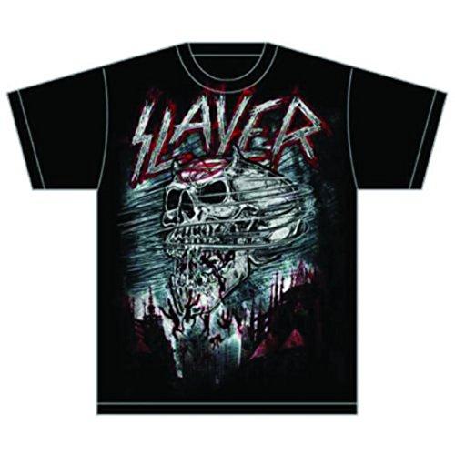 T-Shirt # L Black Unisex # Demon Storm [Import]