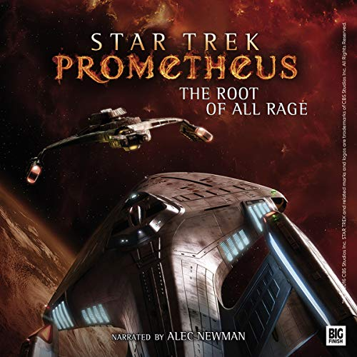 Couverture de Star Trek Prometheus - The Root of All Rage