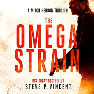 The Omega Strain audiobook cover art