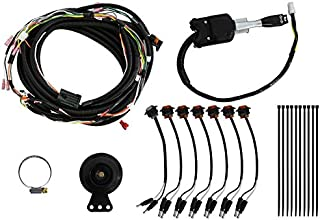 SuperATV Turn Signal Kit for Polaris RZR XP 1000 / XP 41000 (2015-2018) - (with Steering Column with Attached Horn) - Plug and Play for Easy Installation!