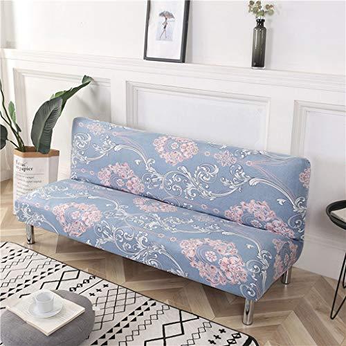 LLKK Funda Protectora de sofá,Funda de sofá elástica,Funda de sofá,Funda de sofá Cama con Todo Incluido y Cubierta Completa sin reposabrazos,Sala de Estar,Universal,Simple,Moderna,Antideslizante
