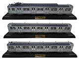 Atlas Self-propelled + 2 Wagons Trailers Train SNCF Serie Z-5100 1:87 HO (Réf 07-08-09)