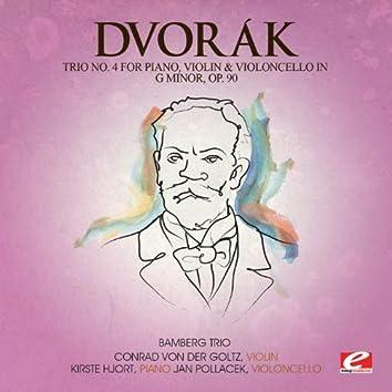 Dvorák: Trio No. 4 for Piano, Violin and Violoncello in G Minor, Op. 90 (Digitally Remastered)