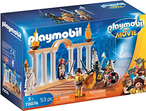 PLAYMOBIL: THE MOVIE Emperador Maximus Coliseo, Partir