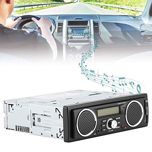 Autoradio, lettore MP3 per auto MP3 12V Supporto multimediale USB TF Card Reader per auto