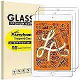 XunyLyee [2 Piezas] Protector de Pantalla Compatible Con iPad Mini 2019, Cristal Templado Film para iPad Mini 5 y iPad Mini 4
