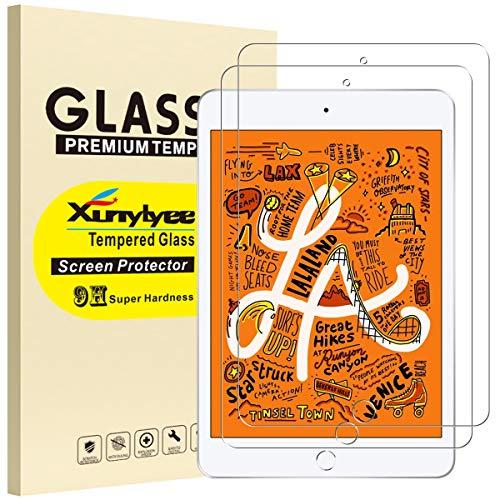 XunyLyee [2 Piezas] Protector de Pantalla Compatible Con iPad Mini 2019, Cristal...