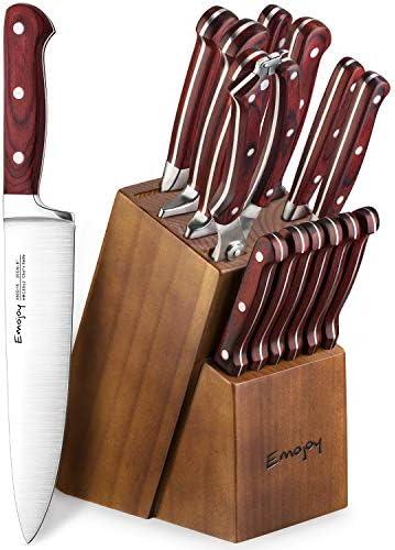 Up to 34% off Emojoy Block Knife Sets and Steak Knives