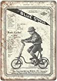 KODY HYDE Metall Poster - Toledo Blue Streak Metal Wheel Co