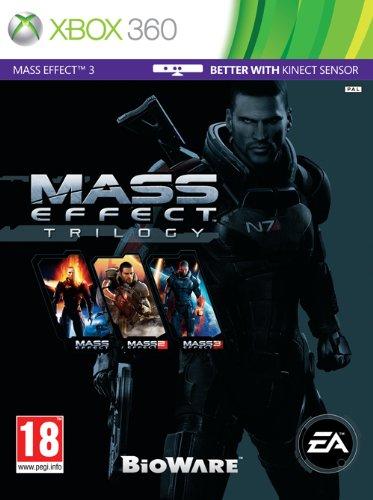 NEW & SEALED! Mass Effect Trilogy Microsoft XBox 360 Game UK PAL