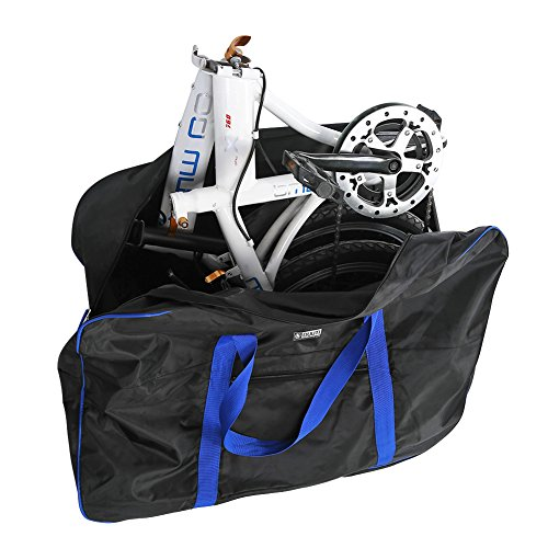 Bolsa de Transporte Bicicleta Maletas de Viaje con Bolsa de Sillín para...