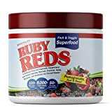 Ruby Reds | Delicious Reds Powder Fruit & Vegetable Supplement with Potent Vitamins, Minerals, Enzymes, Herbs, Nutrients and Probiotics for Overall Health 11 oz. (30 Servings)