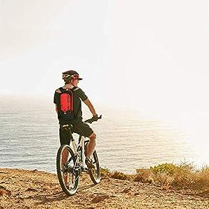 Local Lion 6L Mochilas de Hidratacion Ciclismo al Aire Libre de Unisex Multifuncional Impermeable de Poliester para Viaje Rojo