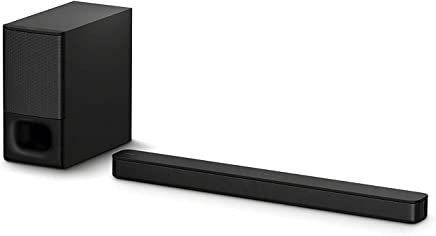 Sony HT-S350 2.1CH Soundbar with Powerful Subwoofer and...