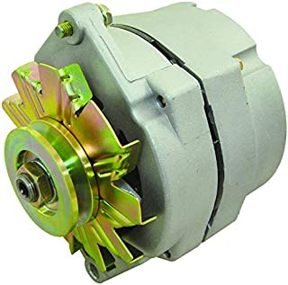 New Alternator Replaces Delco 10SI 1 Wire Install 63A W/V Belt Pulley Buick Cadillac Chevy GMC Oldsmobile Pontiac 1100125