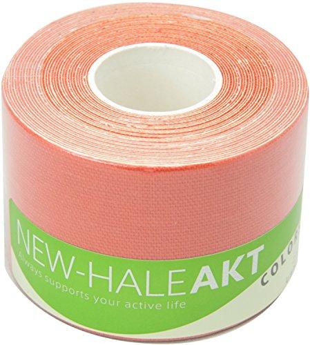 New-HALE(ニューハレ) テーピングテープ ロールタイプ ひじ ひざ 関節 筋肉 サポート AKT Colors レッド (5cm×5m) 731559