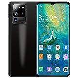 Routinfly Smartphone sbloccato, Android 6.3 pollici S30PRO Smartphone 1 + 16 G gocce d'acqua riconoscimento facciale grande schermo touch screen cellulare (argento)