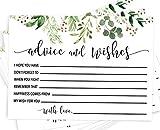 Hochzeits-Ratschläge, 50 Grüne Ratschläge, Ratschläge für Braut und Bräutigam, Gästebuch-Alternative für Hochzeit, Brautparty, einzigartige Hochzeits-Idee und Braut-Aktivität