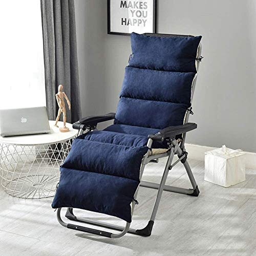 Seat Cushions Leisure Chair Cushion With Zipper And Easy To Remove And Wash The Sun Chair Cushion Non-slip Design Travel Vacation Beach Indoor And Outdoor Chair Cushion